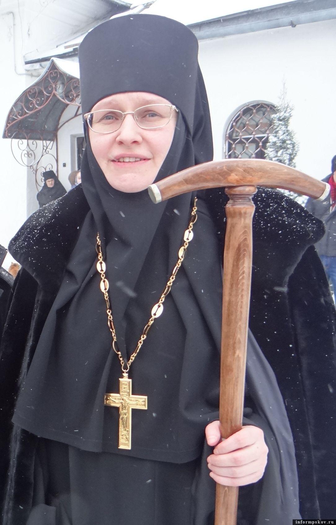 На фото: игумения Татиана (Пашкова)