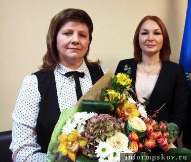 На фото: (слева направо) Галина Григорьева и Олеся Ребеко