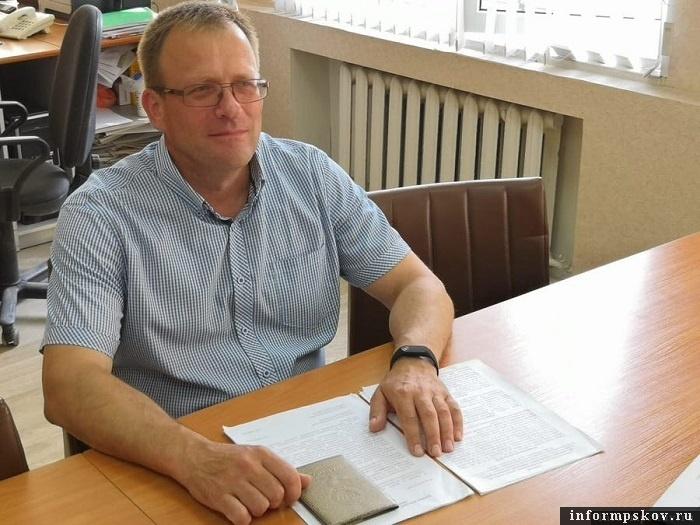 На фото: Юрий Ильин