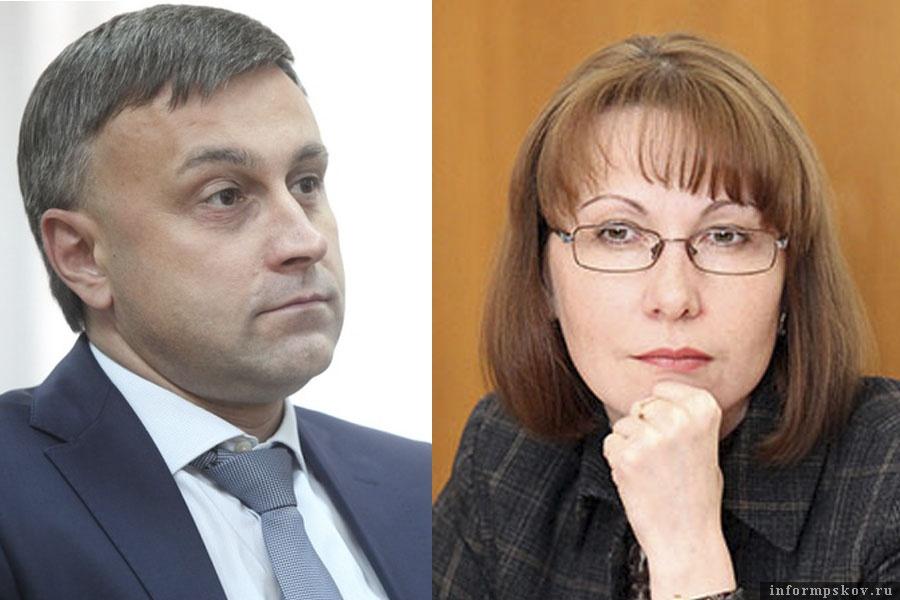 На фото: Андрей Карпов и Оксана Иванова