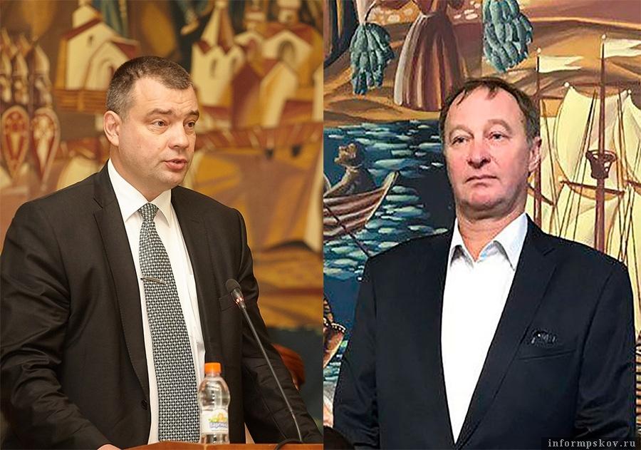 На фото: (слева направо) Алексей Захаров и Николай Баринов