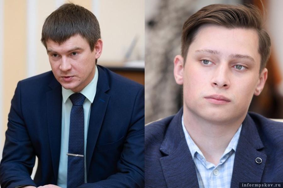 На фото: (слева направо) Денис Матвеев и Владимир Яковлев