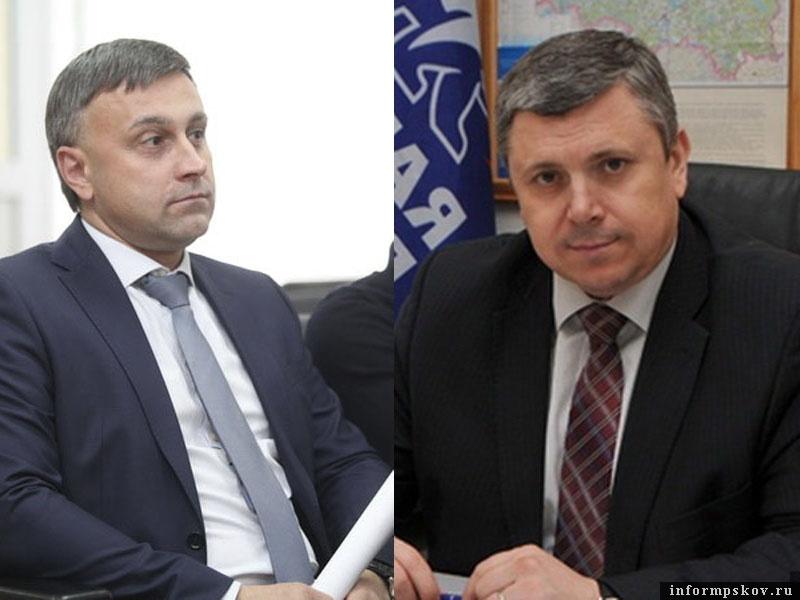 На фото: (слева направо) Андрей Карпов и Игорь Сиротин