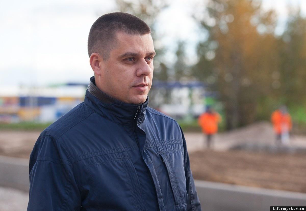На фото: Александр Кузнецов