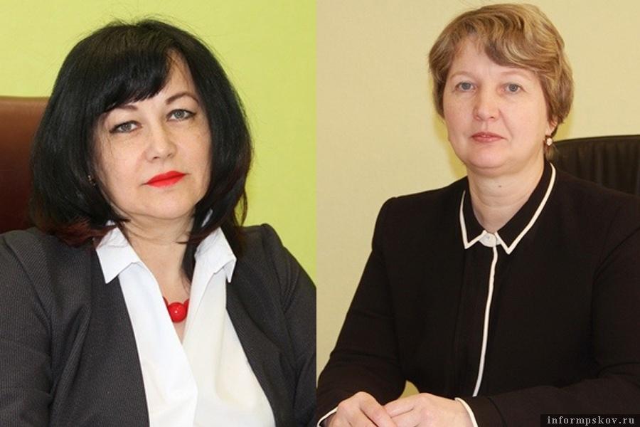 На фото: (слева направо) Валентина Зубова и Елена Жгут