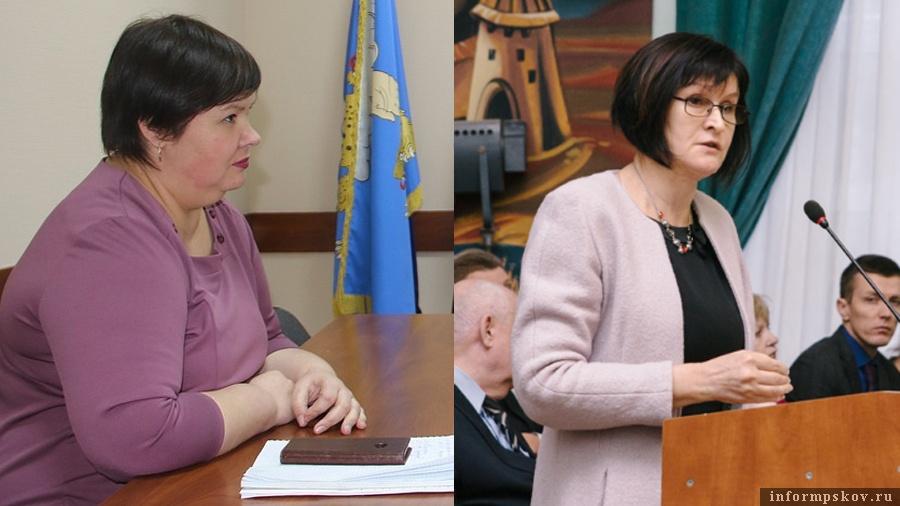 На фото: (слева направо) Елена Кузнецова и Лариса Морозова