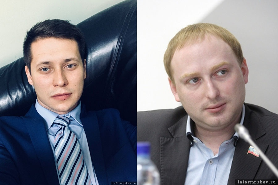 На фото: (слева направо) Артём Васильев и Антон Минаков