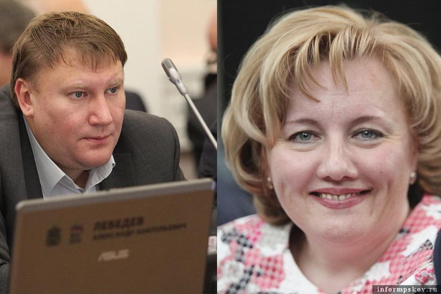 На фото:Александр Братчиков и Ирина Толмачёва