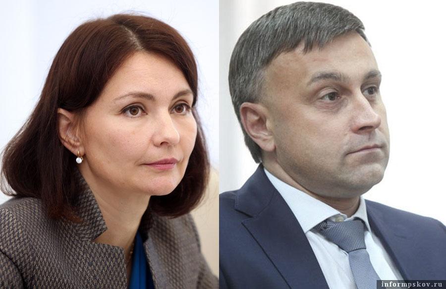 На фото: Наталья Волкова и Андрей Карпов