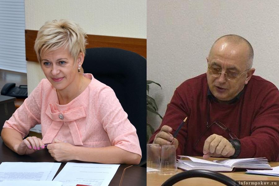 На фото: Марина Бочарникова и Андрей Кофиади