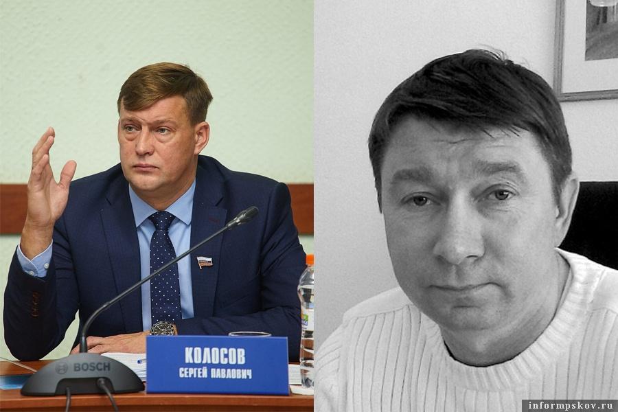 На фото: (слева направо) Сергей Колосов и Дмитрий Федотов