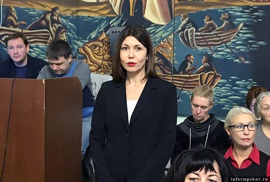 На фото: Наталья Симонова