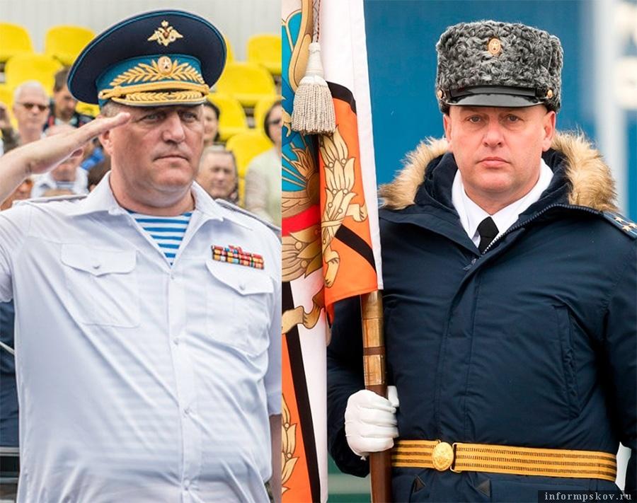На фото: (слева направо) Алексей Наумец и Игорь Каплий