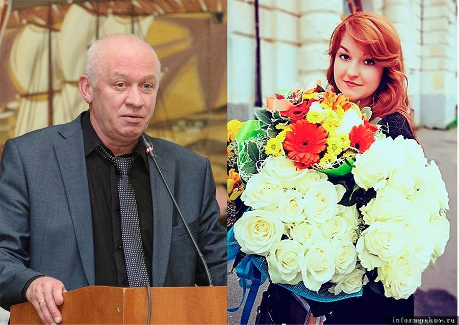 На фото: Игорь Прокофьев и Анна Кузыченко