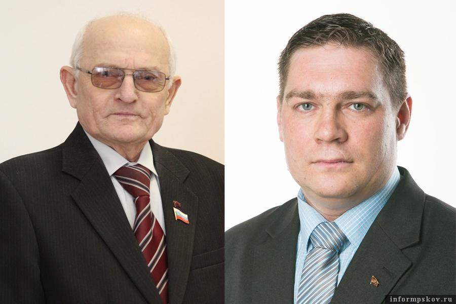 На фото: (слева направо) Виктор Дуля и Дмитрий Михайлов