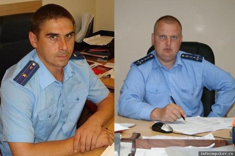 На фото: (слева направо) Сергей Самолётов и Алексей Ляхов