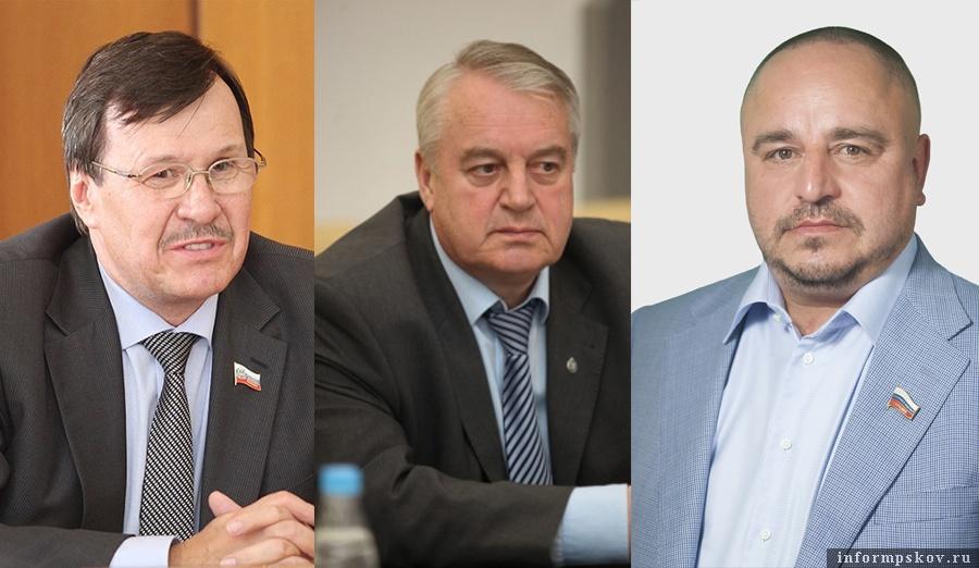 На фото: (слева направо) Валентин Каленский, Виктор Антонов и Алексей Севастьянов