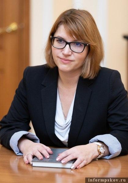 На фото: Елена Тимашова