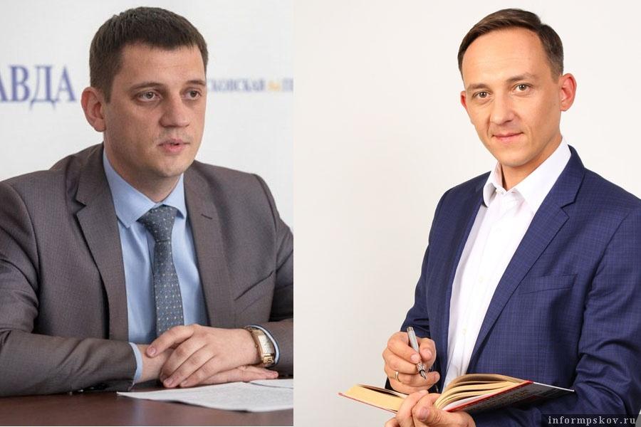 На фото: (слева направо) Андрей Агапов и Сергей Грахов