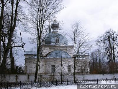 Покровский храм в Озерах