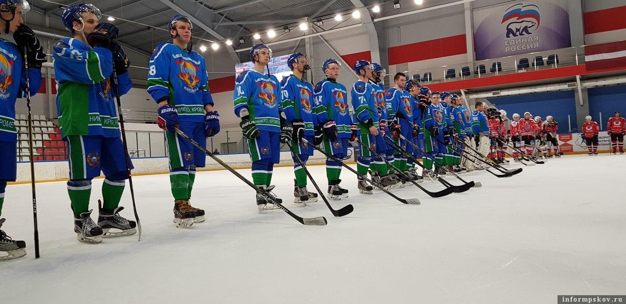 Международный турнир по хоккею VII «Кубок Победы». Фото из социальной сети.