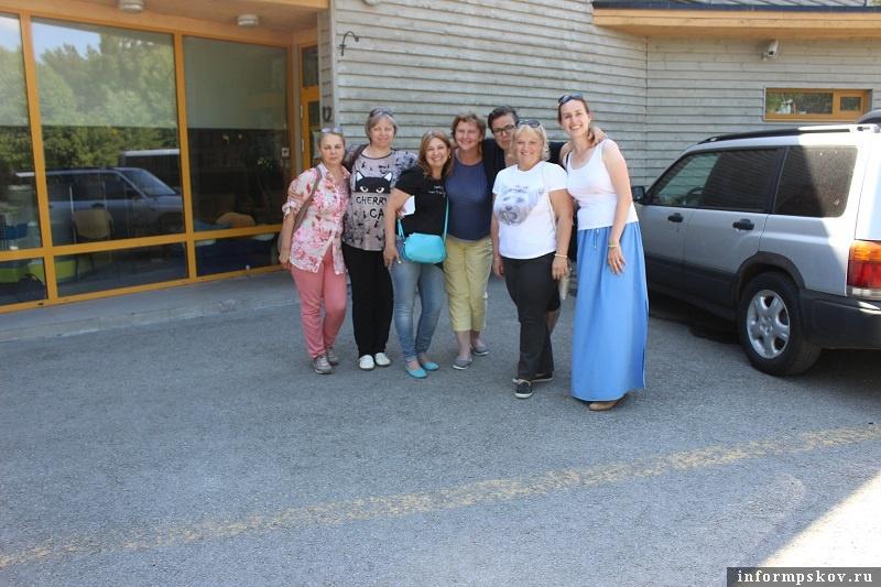 Псковские волонтеры в Эстонии