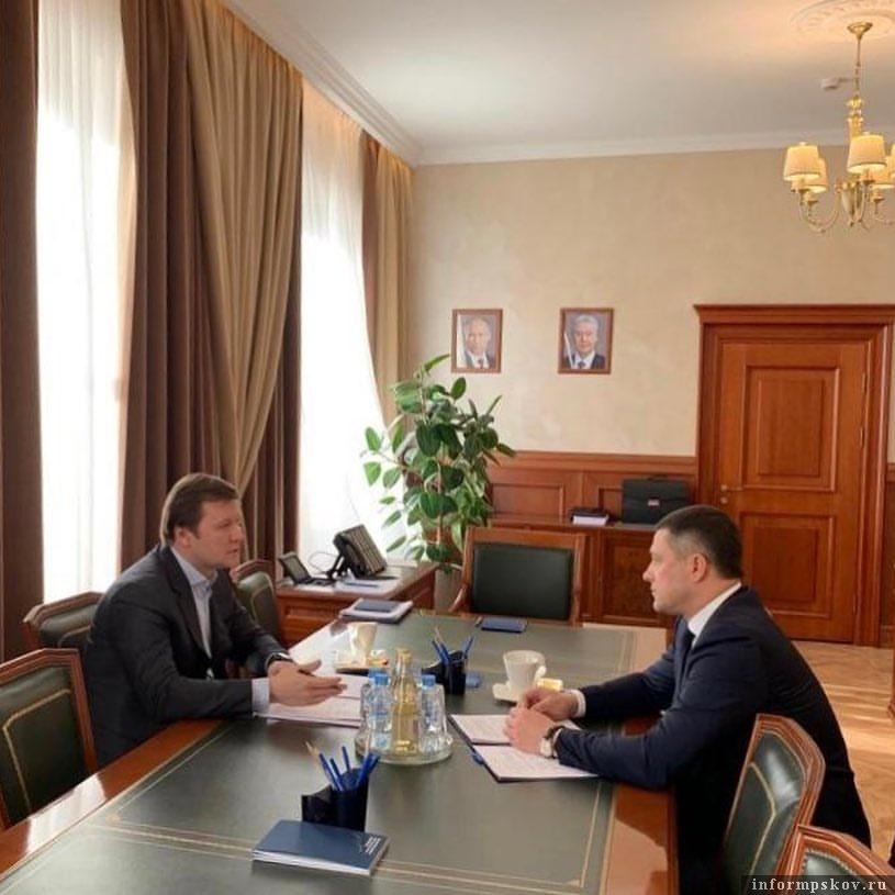Фото из Instagram губернатора Псковской области Михаила Ведерникова.