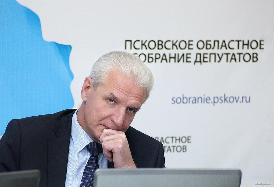 Александр Котов. Фото пресс-службы Псковского областного Собрания