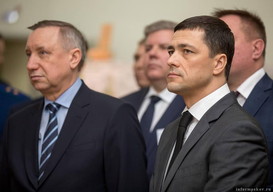 Александр Беглов и Михаил Ведерников