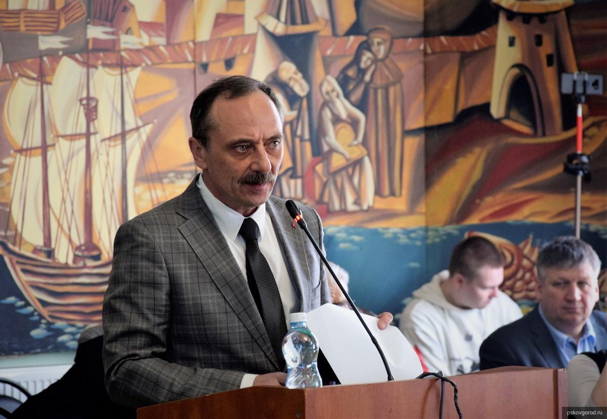 На фото: Герман Петрушко. Фото пресс-службы муниципалитета