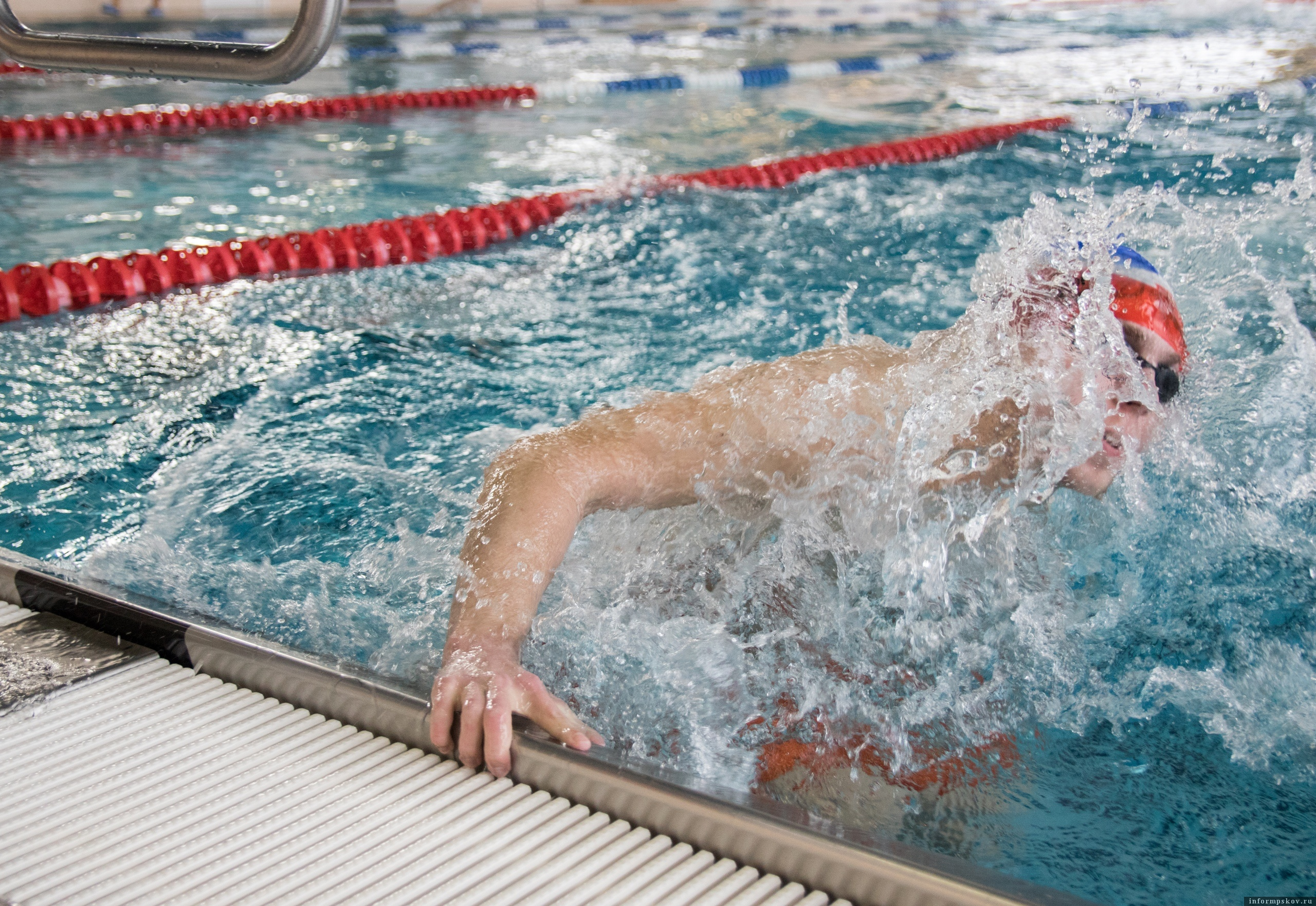 Турнир по плаванию в рамках «Недели здоровья» прошел в Пскове