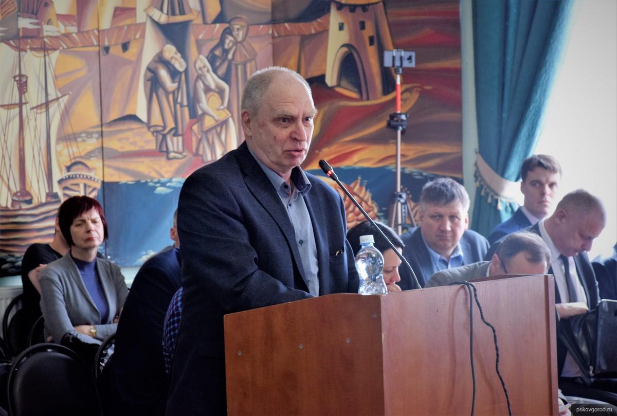 На фото: Анатолий Мультах. Фото пресс-службы муниципалитета