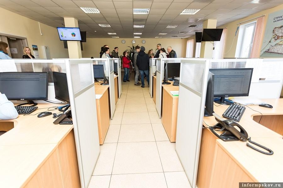 Рабочие места операторов системы-112