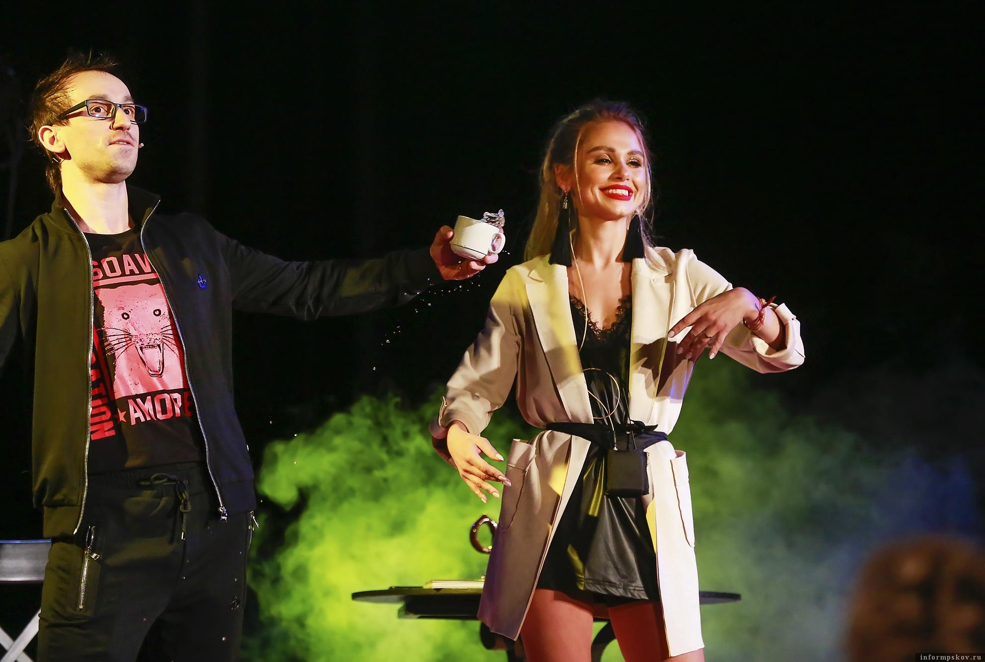 Александр Овчаренко и Ксения Тишкова