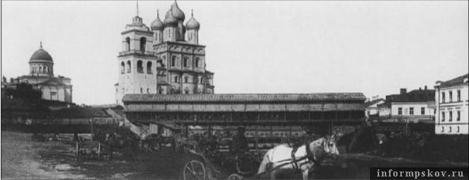«Американский» мост через Пскову