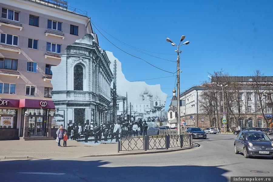 Великолуцкая улица и современная Советская улица