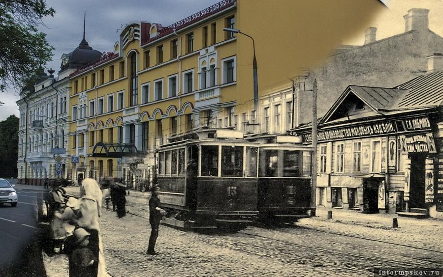 Октябрьский проспект и Сергиевская улица