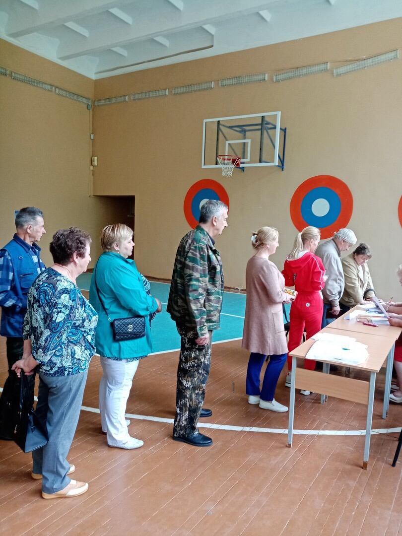"""Предварительное голосование """"Единой России"""" в Пушкинских Горах"""