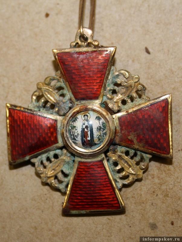 Орден Святой Анны. Фотографию предоставила Татьяна Ершова