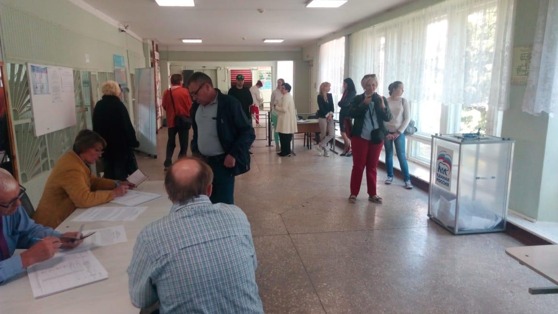 """Предварительное голосование """"Единой России"""" в Пскове"""