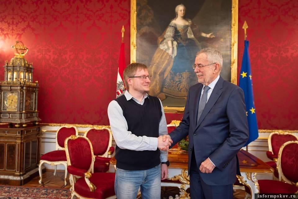 На фото: Валерий Кузьмин (слева) и Александр Ван дер Беллен (справа)