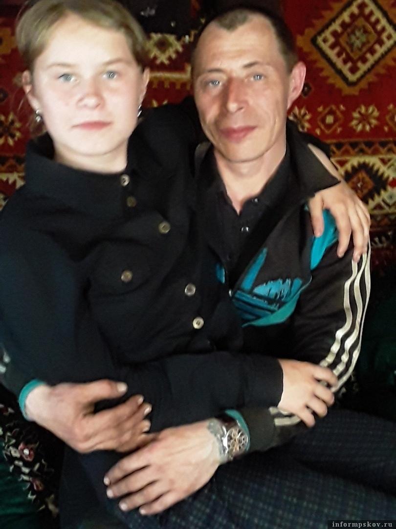 Андрей Куклин с дочерью
