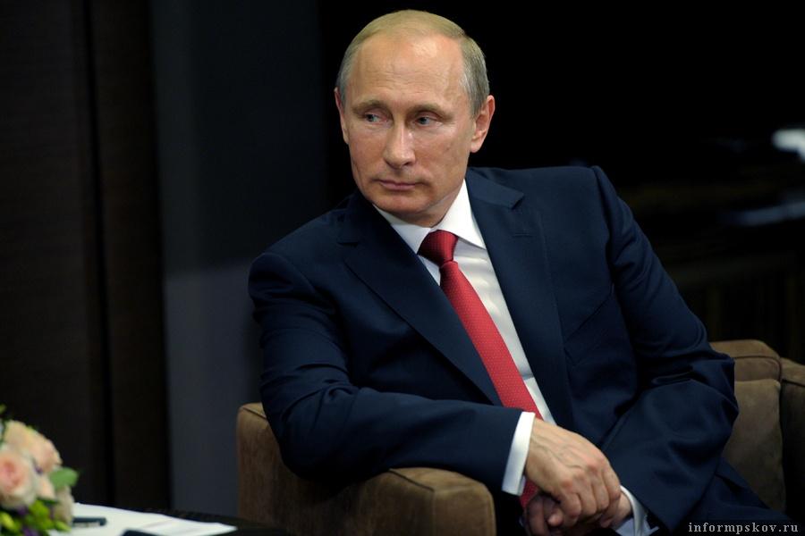 Владимир Путин. Фото пресс-службы президента
