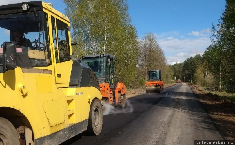 Дорога Урицкое - Рябиновка