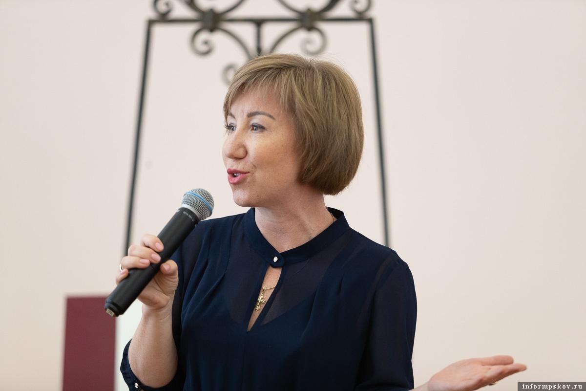 Наталья Ильина. Фото пресс-службы администрации Псковской области