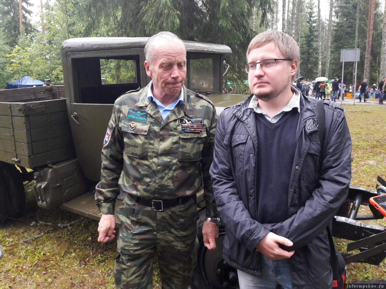 Геннадий Корольков и Валерий Кузьмин