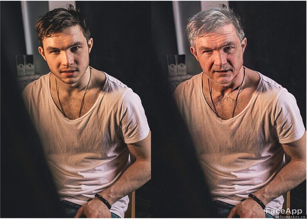 Актёр Псковского академического театра драмы Камиль Хардин