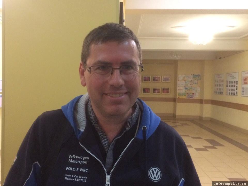 Андрей Клещёв. Фото Федерации автоспорта Псковской области