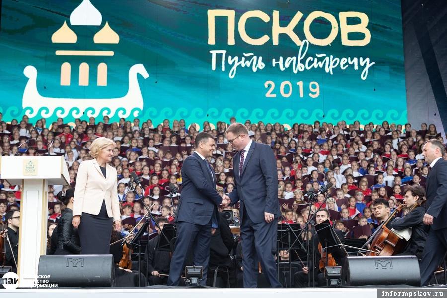 Ганзейские дни Нового времени прошли в Пскове в июне 2019 года.