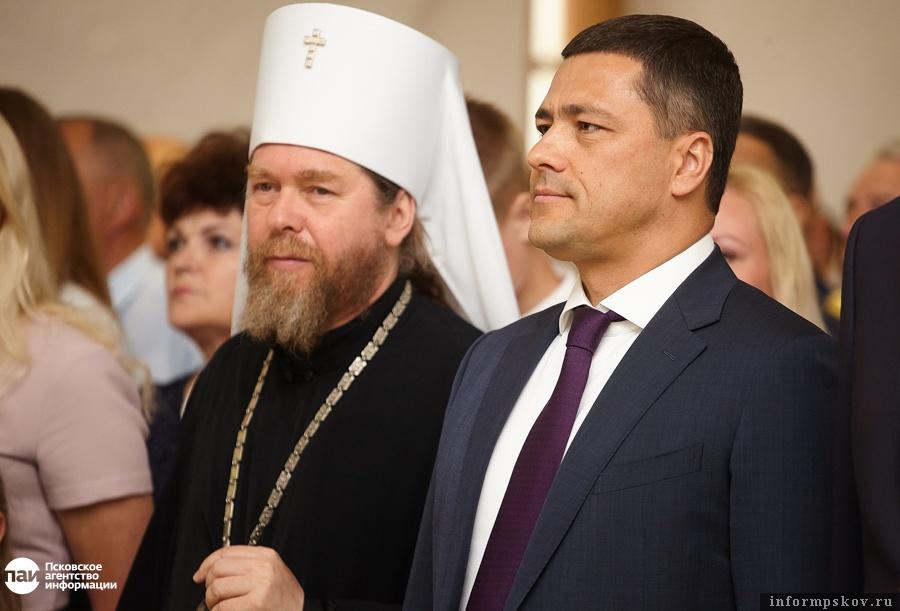 У областных властей немало совместных проектов с Псковской митрополией.